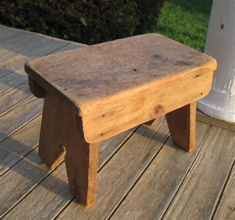wooden benches for vintage bench wooden primitive bench for a foot stool the