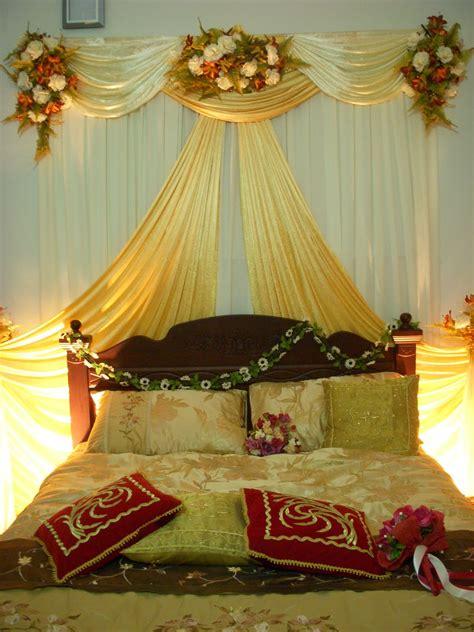 dekorasi kamar pengantin bernuansa romantis