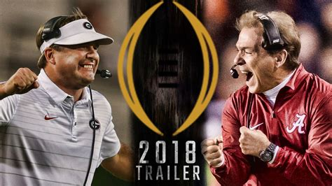 Get hyped up for Alabama vs Georgia with the 2018 National ...