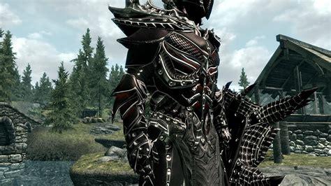 daedric armor mod at skyrim nexus mods and community daedric armor improvement clean at skyrim nexus mods and Godly