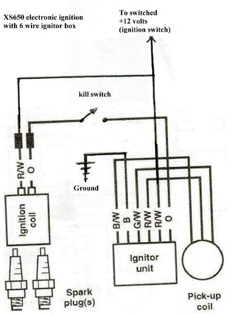 Lumenition Magnetronic Ignition Wiring Diagram by Xs 650 Wiring Yamaha Workshop Yamaha Owners Club