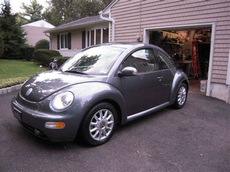 Sell Used 2004 Volkswagen New Beetle Bug Gls Platinum Gray
