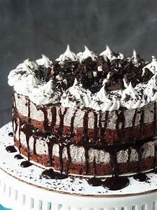 Oreo Cookies and Cream Ice Cream Cake - Life Love and Sugar