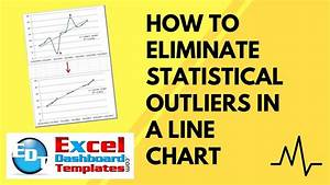 excel dashboard templates free how to eliminate statistical outliers in an excel line
