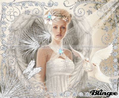 elegant white fairy symbol  goodness picture
