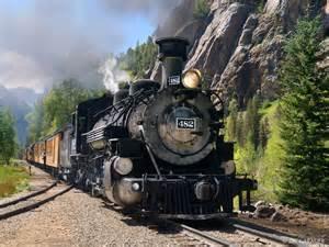 Images of Durango Silverton Narrow Gauge Railroad Train