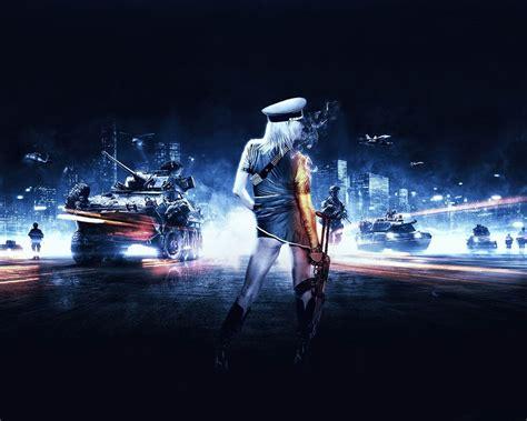 Battlefield 3 Girl Games Hd Wallpaper-1280x1024 Download