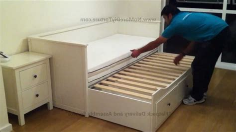 chambre hemnes ikea hemnes daybed slat construction the