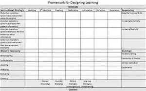 Excel Workbook Templates Or Learning Design Framework