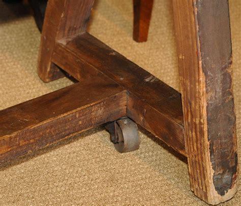 rack saddle antique wood want