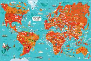World Map New York