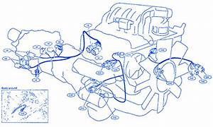 Nissan Xterra 2001 Engine Electrical Circuit Wiring