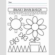 Shape Identification Worksheet By Shannon Allison Printplanrepeat