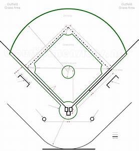 High School Baseball Diamond Dimensions
