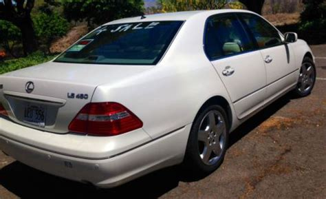 Sell Used 2006 Lexus Ls 430 White Low Miles Excellent