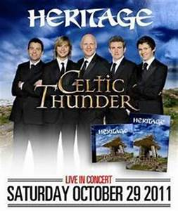 Celtic Thunder Tour Dates, Concerts & Tickets – Songkick