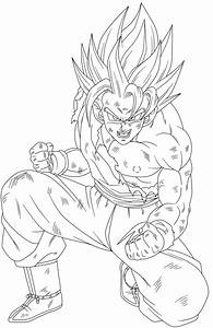 Goku Ssj2 - Free Coloring Pages