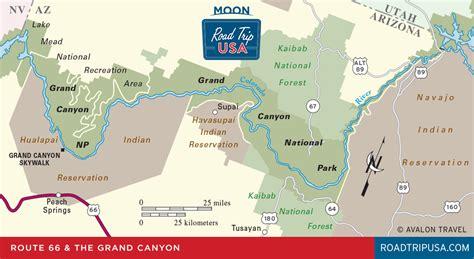 route  detour grand canyon national park road trip usa