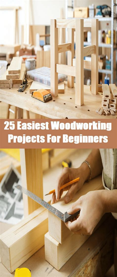 easiest woodworking projects  beginners wood