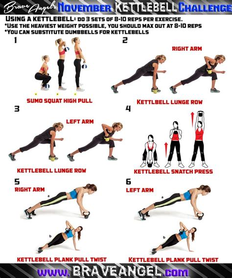 kettlebell workout body workouts snatch challenge training exercise whole circuit pull program fire lunge row plank weight swings cardio