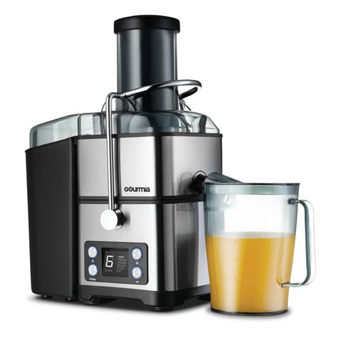 self juicer extraction gourmia whole fruit clean juicers walmart