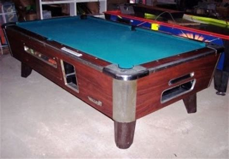 valley pool table for sale 7ft valley coin operated pool tables 7 are available ebay