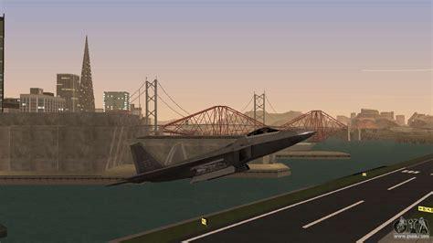 F-22 Raptor Pj For Gta San Andreas