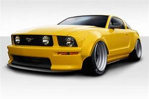 Kit Body Kit for 2006 Ford Mustang - 2005-2009 Ford Mustang Duraflex Circuit Wide Body 75MM ...