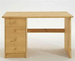 Pc Tisch Holz : kinder schreibtisch kiefer massiv natur lackiert holz m bel pc tisch ~ Markanthonyermac.com Haus und Dekorationen