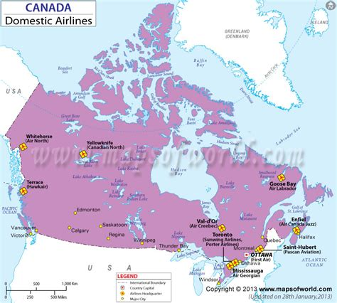 Canada Domestic Flights Canada Domestic Airlines