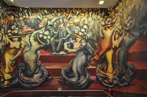 David Alfaro Siqueiros Murales Importantes by Visiones De Pol 237 Tica Internacional Las Puertas De La