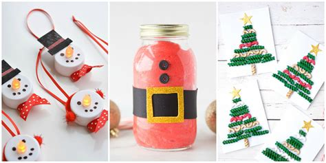 easy christmas crafts  kids   ideas