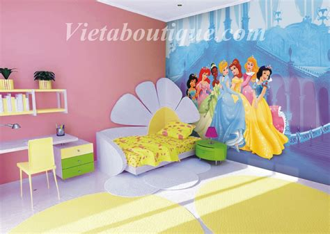 chambre fille disney decoration chambre princesse disney