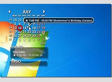 Events And Tasks Management Tool With Desktop Calendar Widget