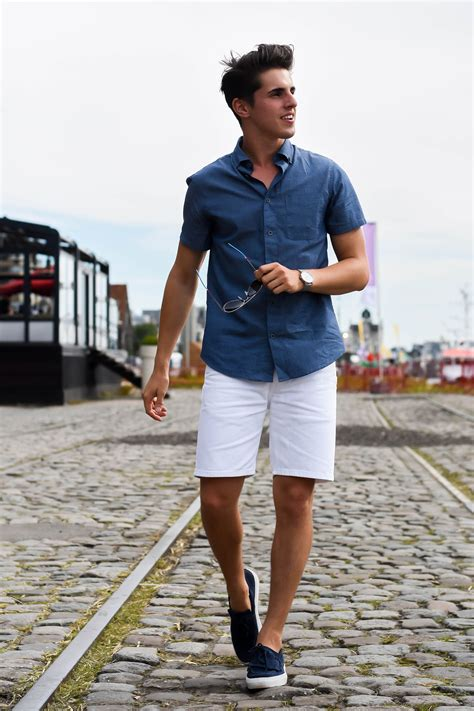 Image result for men short sleeve navy buttoned down | be a badass muthafukka (or a gentleman ...