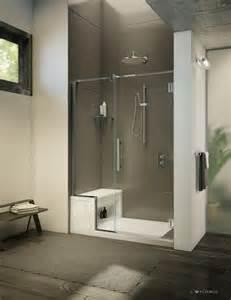 Walk Shower Seat Picture