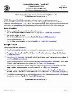 uscis new i 129f checklist k 1 fiancee visa process With document checklist uscis
