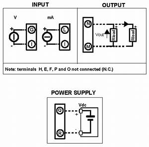Voltage And Current Converter  Din Rail Mount  Isolated