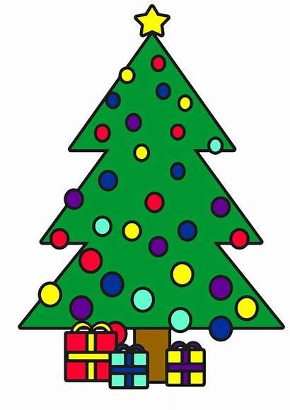 Clipart Weihnachtsbaum Christbaum Mit Geschenken Filz Kostenlos