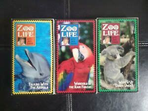 Lot of (3) Zoo Life with Jack Hanna Time Life VHS Tapes ...