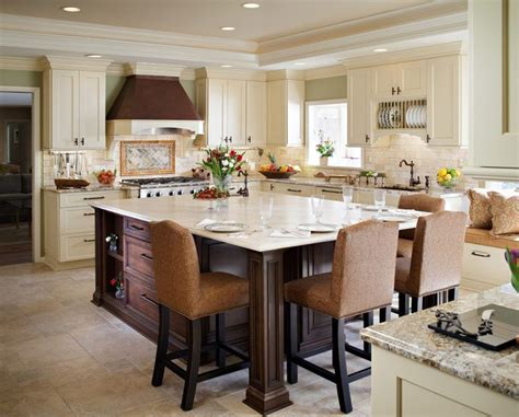 kitchen table islands extending kitchen island to a dining table http