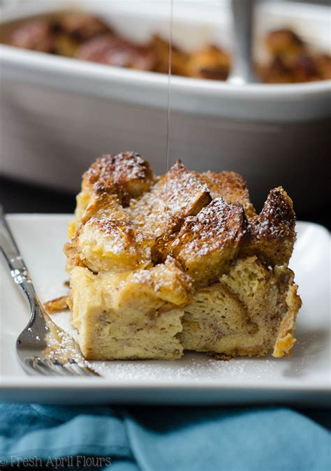 Make Ahead Meal Overnight French Toast Casserole