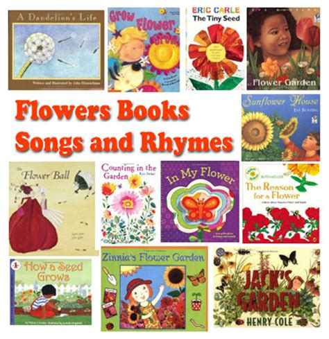 flowers rhymes songs and books for preschool and 515 | FlowerBooksRhymes