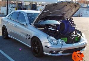 W211 Mercedes-benz E55 Amg  7