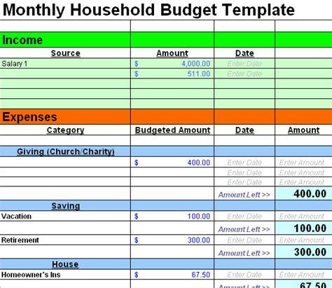 free budget template free sle budget spreadsheet leave debt