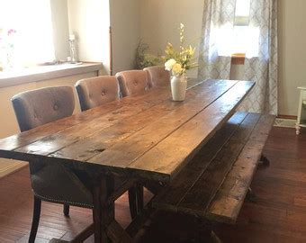 farm dining table legs farmhouse table etsy