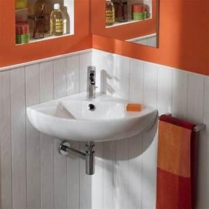 Lavabo D Angle Salle De Bain : lavabo salle de bain quipement salle de bain ~ Nature-et-papiers.com Idées de Décoration