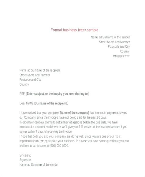 format letter template statepensioninfo