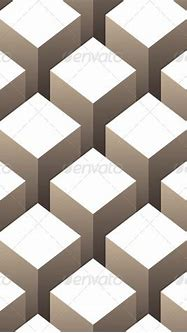 Stock Vector - GraphicRiver 3D Boxes Seamless Pattern ...