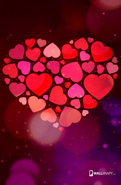 Find the best beautiful love wallpapers on getwallpapers. Colorful love hd wallpaper for mobile phone - Wallsnapy